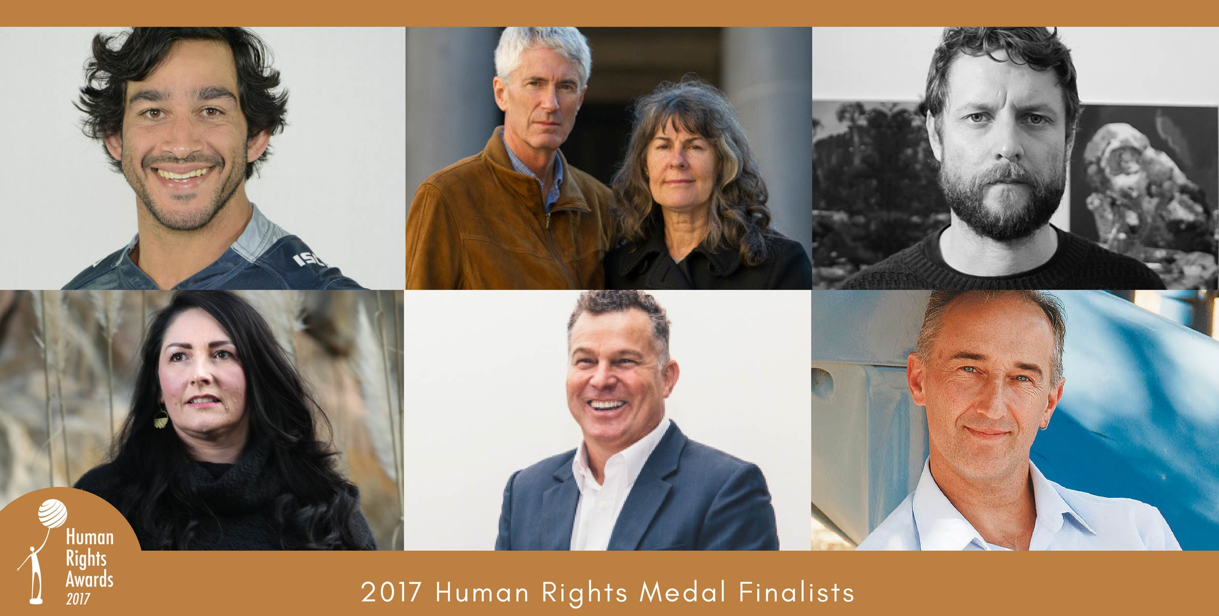 Human Rights Awards 2017 Medal Finalists
