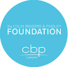Colin Biggers and Paisley Foundation logo