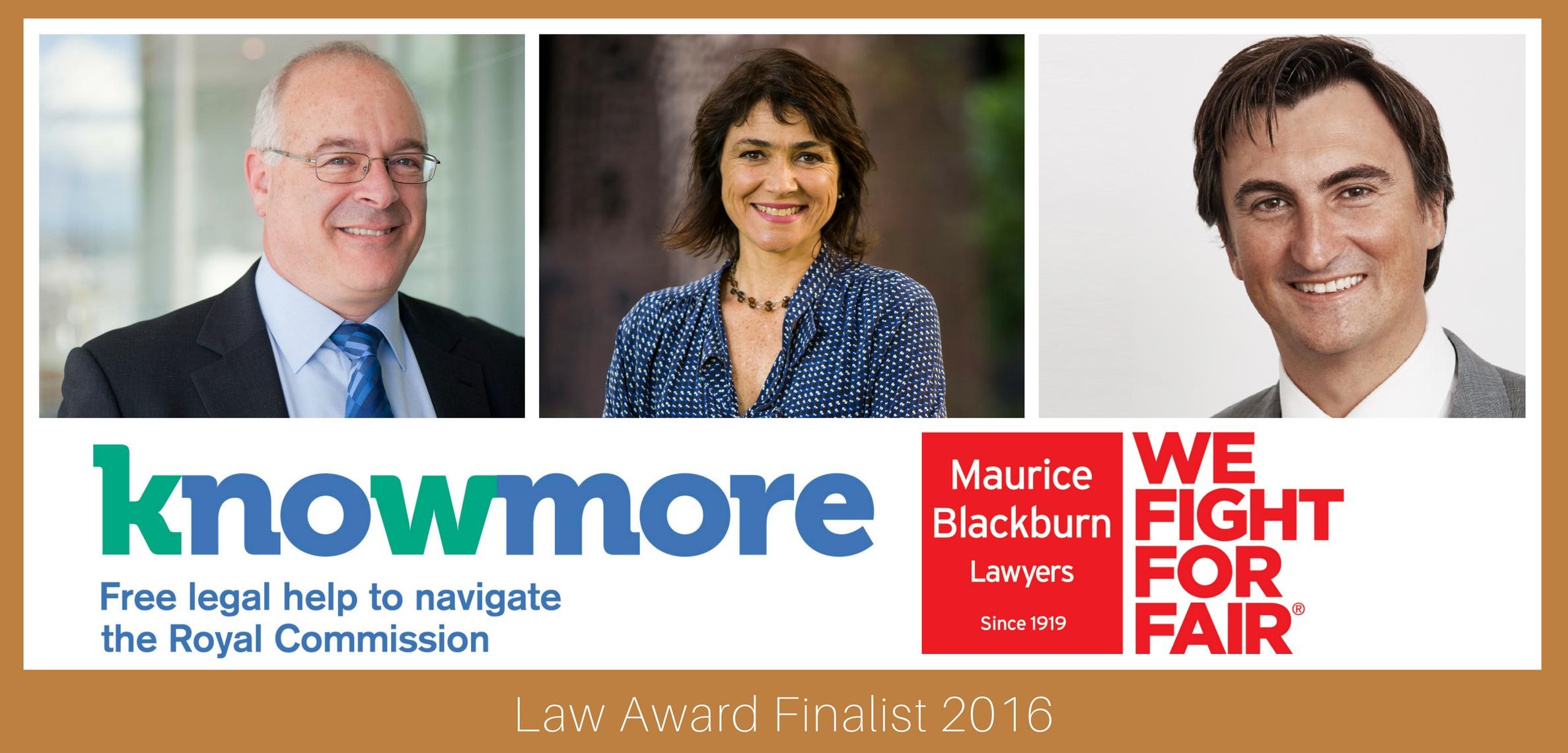 Law Award finalists 2016