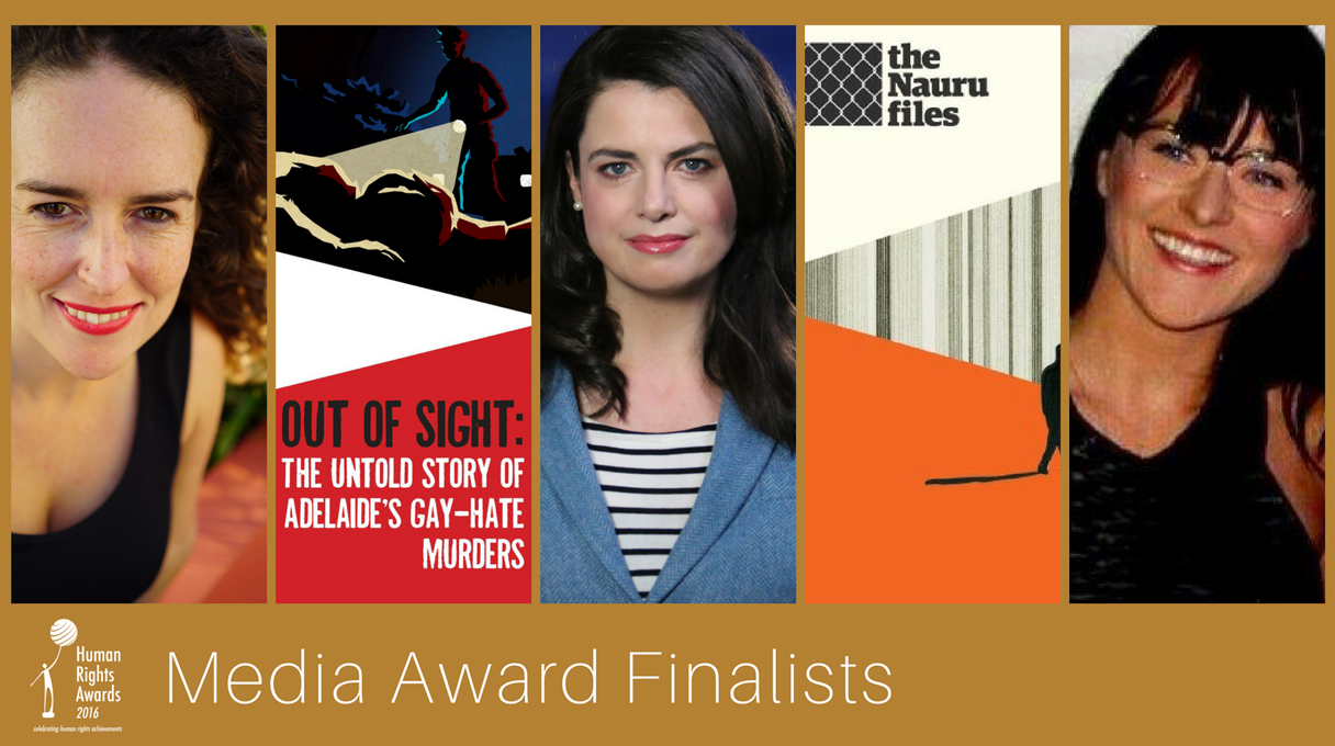 Composite for Media Award finalists 2016