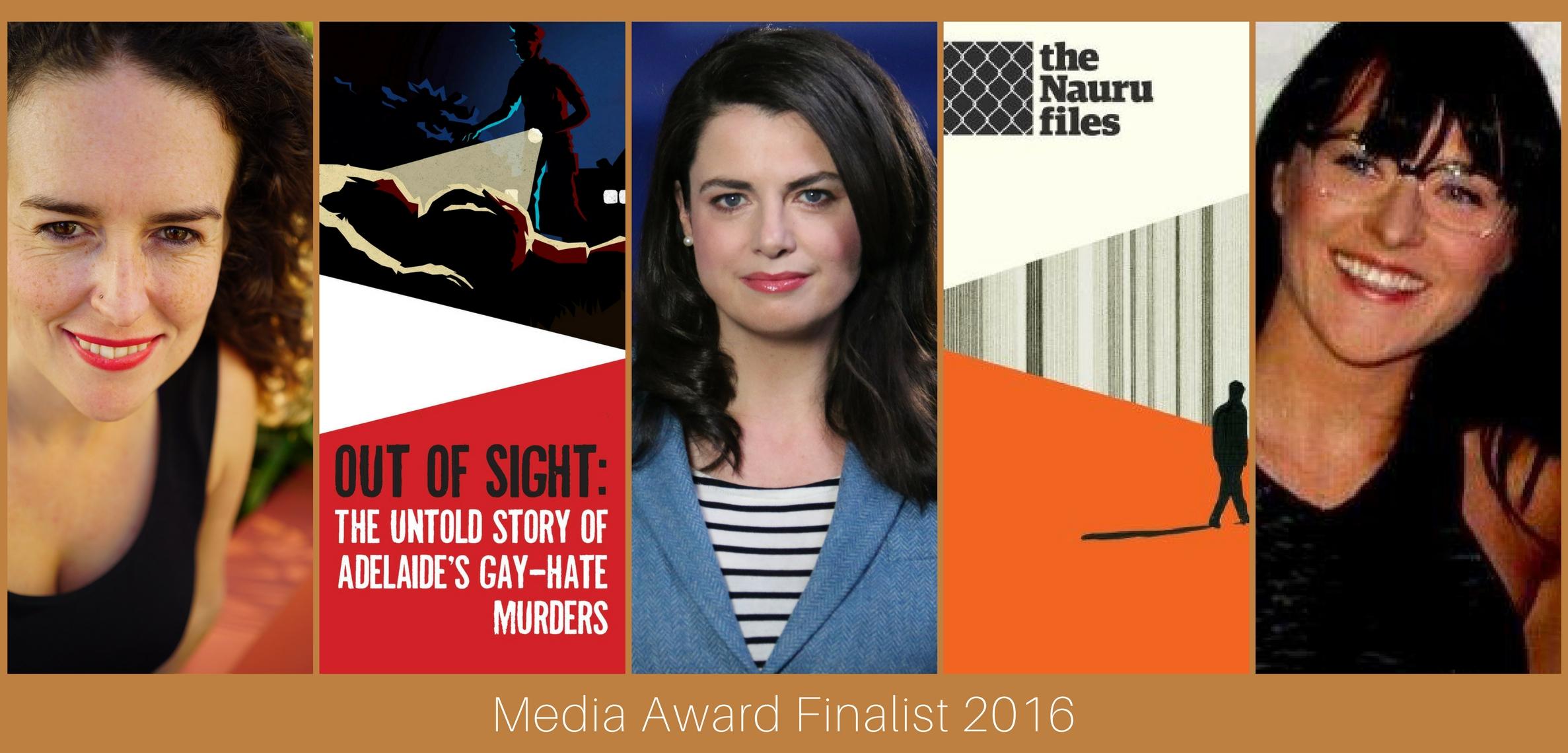 Media Award Finalists 2016