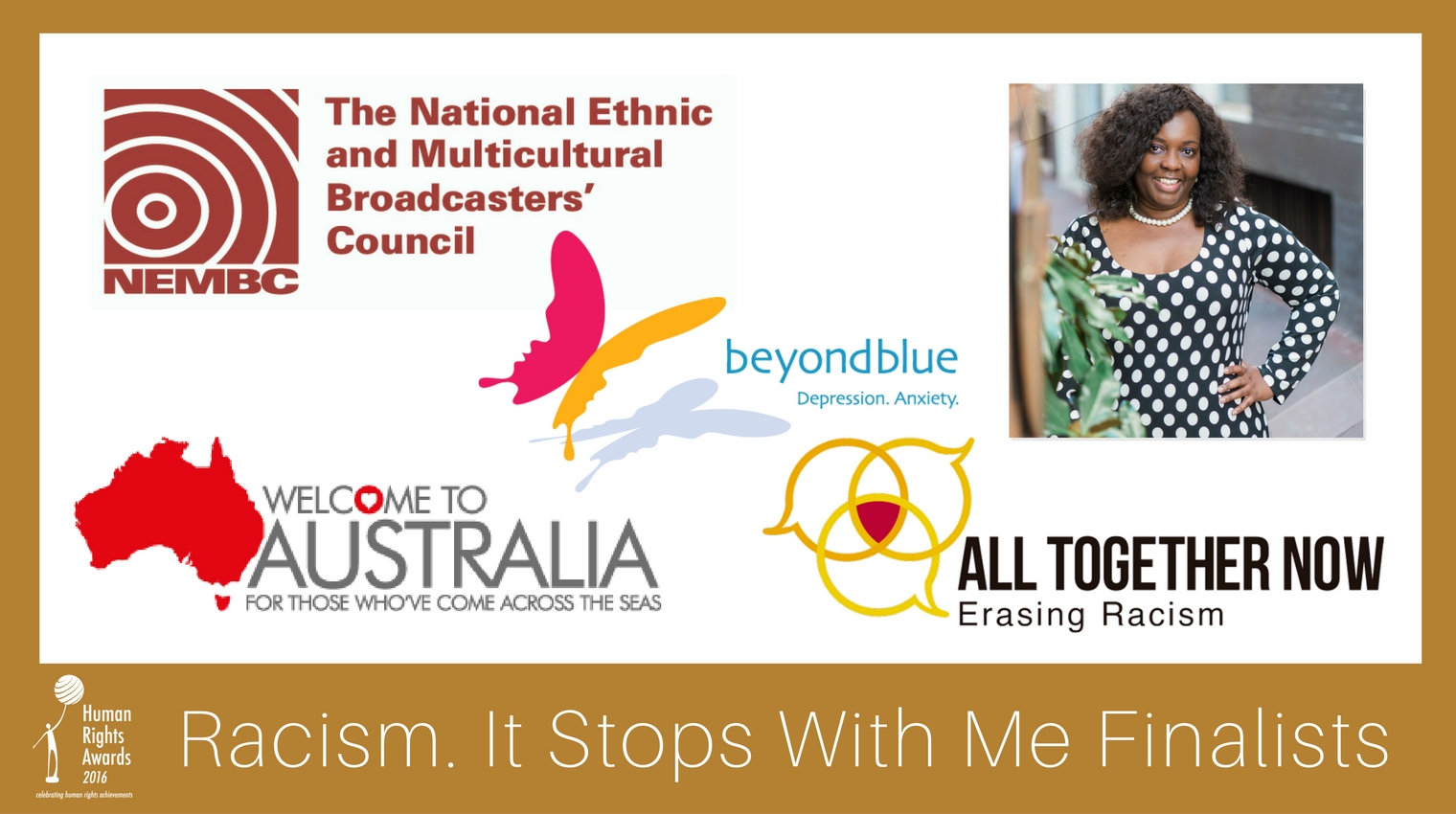 Composite Racism It Stops With Me Award finalists 2016