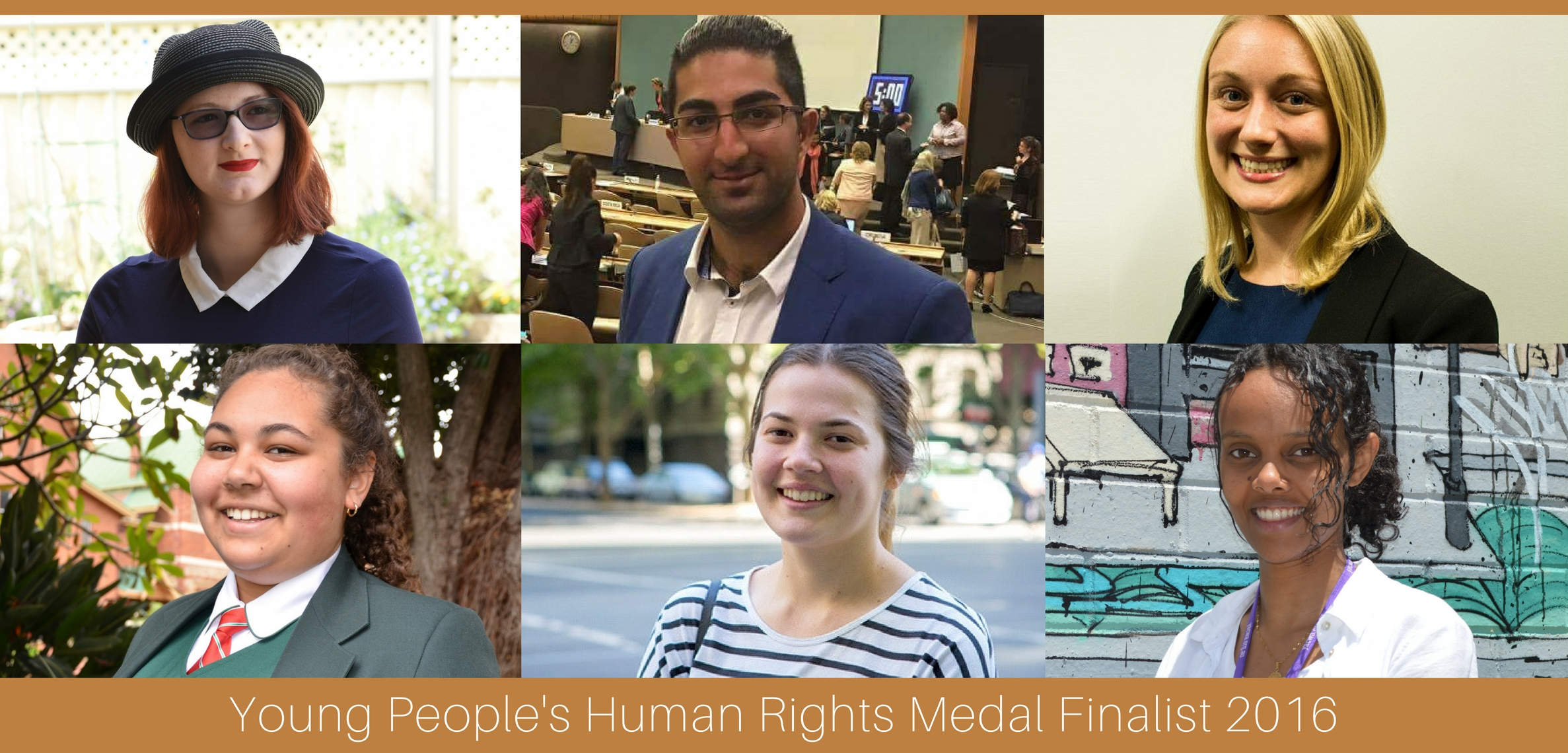 Young People's Human Rights Medal 2016
