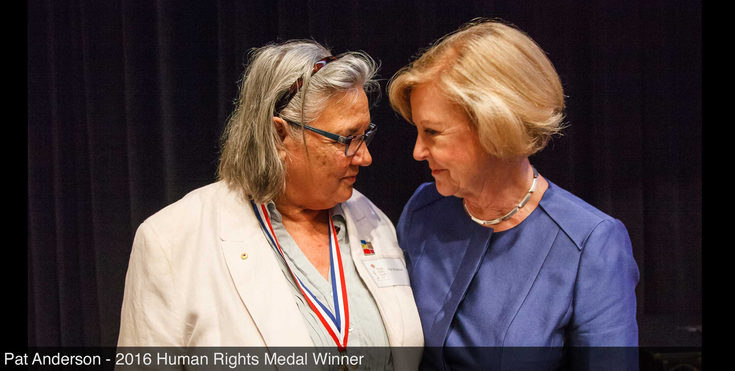 Pat Anderson and Gillian Triggs