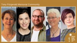 Community Individual Award 2017 - finalists