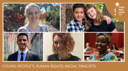 HRA Young Medal Finalists
