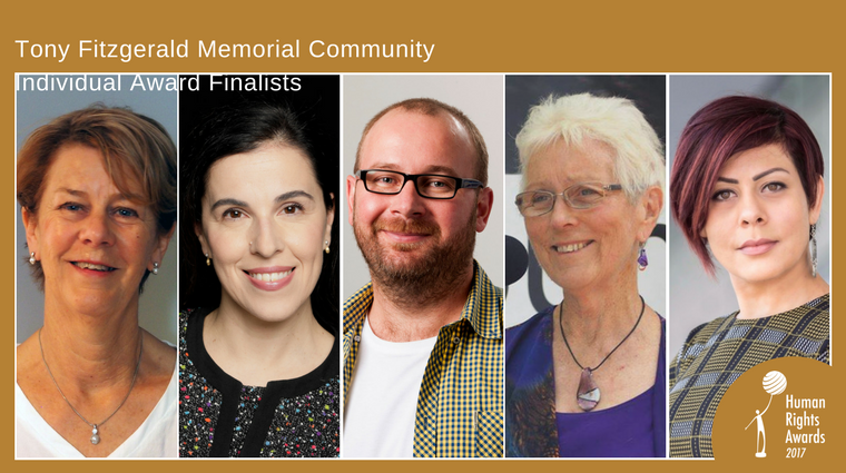 Community Individual Award 2017 - finalists