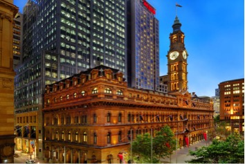 photo of The Westin Sydney hotel buiding